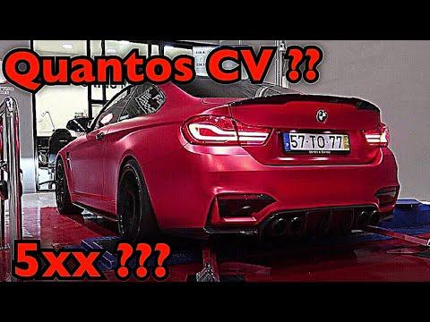 BMW M4 NO BANCO DE POTÊNCIA !!!