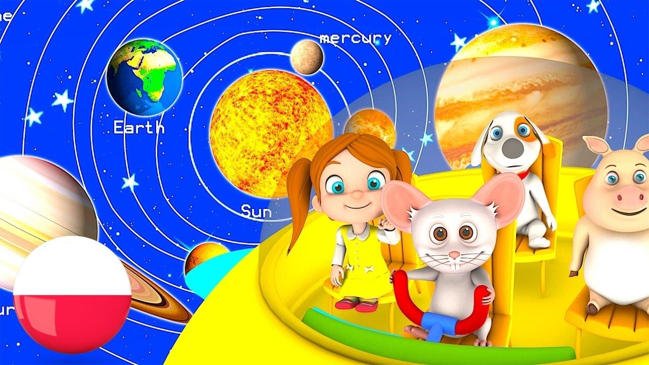 Planeta Piosenki Polskie Piosenki Dla Dzieci Przedszkola Piosenki Maluch Muzyki Planets Song