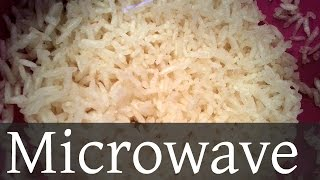 how to cook rice in microwave youtube