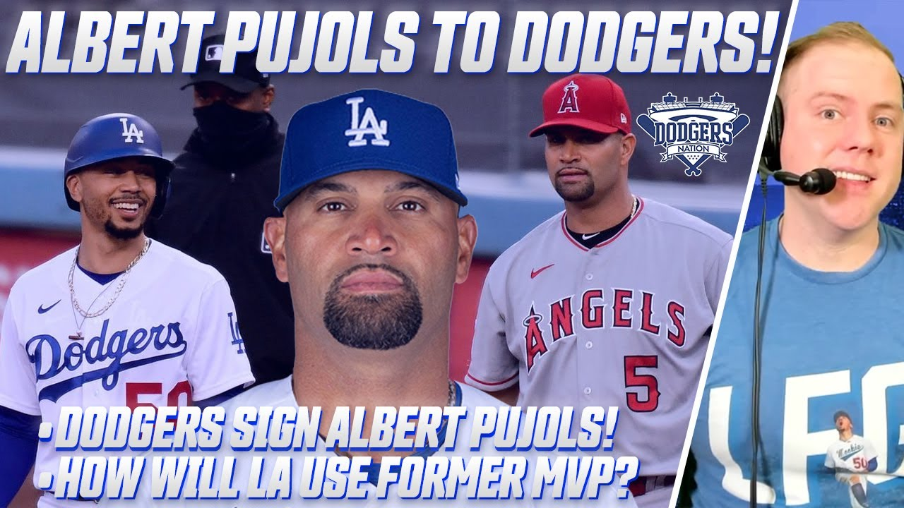 Los Angeles Dodgers reach deal with Albert Pujols