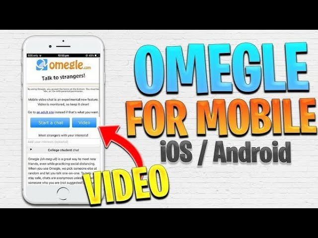 App download free video omegle apk chat Omegle App