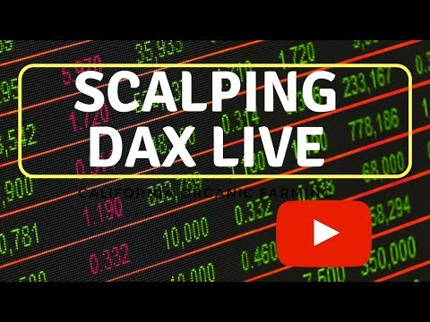 Trading / Scalping DAX Live 21 mars 2018