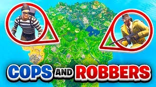 *FULL MAP* COPS & ROBBERS in Fortnite Battle Royale