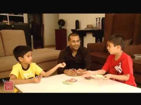 meet daddy cool chetan bhagat and his wife