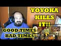 Good Times Bad Times - LED ZEPPELIN / Cover by Yoyoka , 8 year old | American Reaction アメリカの反応
