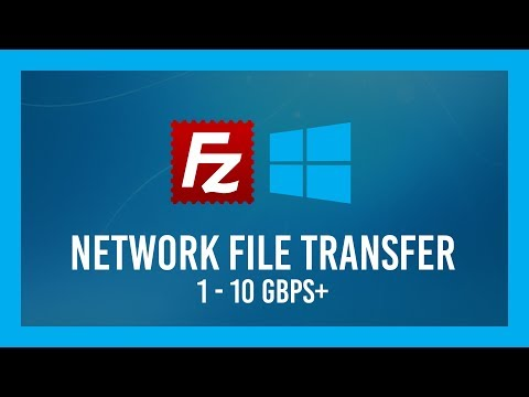 Move Files Over LAN FAST | 1-10Gbps+ | A FileZilla Client/Server Crash Course
