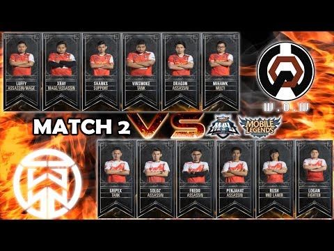 Rush Top Global Harley Mengganas !!! Air Asia Saiyan vs WOW Match 2 : MPL MY/SG S2