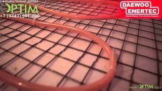 видео Как самостоятельно сделать электрический пол в бане, инструкция
