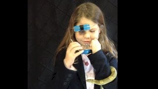 How to put on face frame / head gear... For KIDS. (Orthodontic Outtakes)