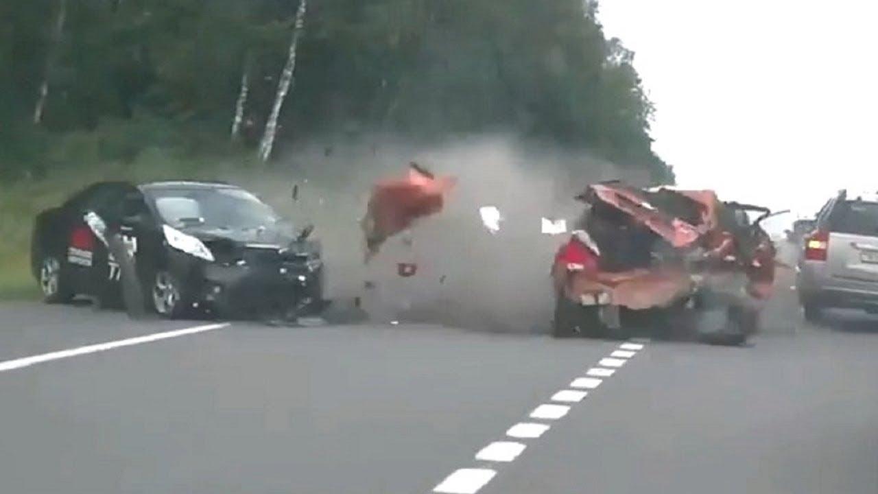 автомобильные аварии на дорогах России 2017