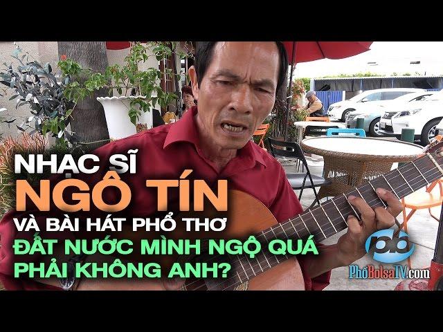 Ns Ngô Tín và bài hát phổ thơ: