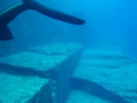 Yonaguni Monument Steps YouTube