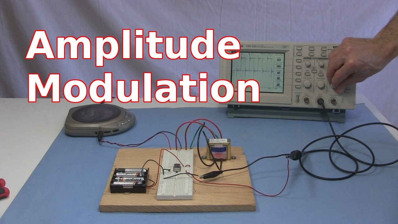 Amplitude Modulation Circuit And How Am Works Youtube