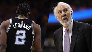Kawhi Leonard AND Greg Popovich BOTH LEAVING The Spurs?