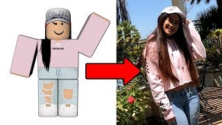 ROBLOX OUTFITS IN REAL LIFE!