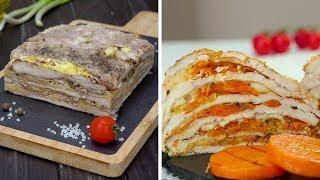 Как приготовить многослойные запеканки из курицы Рецепты от Со Вкусом