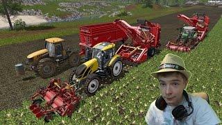Szybko kochana ! Kampania buraczana z humorem  2x Grimme ! Farming Simulator 2017 ! //Sekretarka