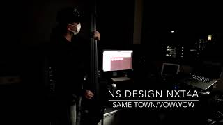 VOWWOW Same Town -Bass Cover- NS Design NXT4a EUB + Fishman PRO-EQ Platinum BASS