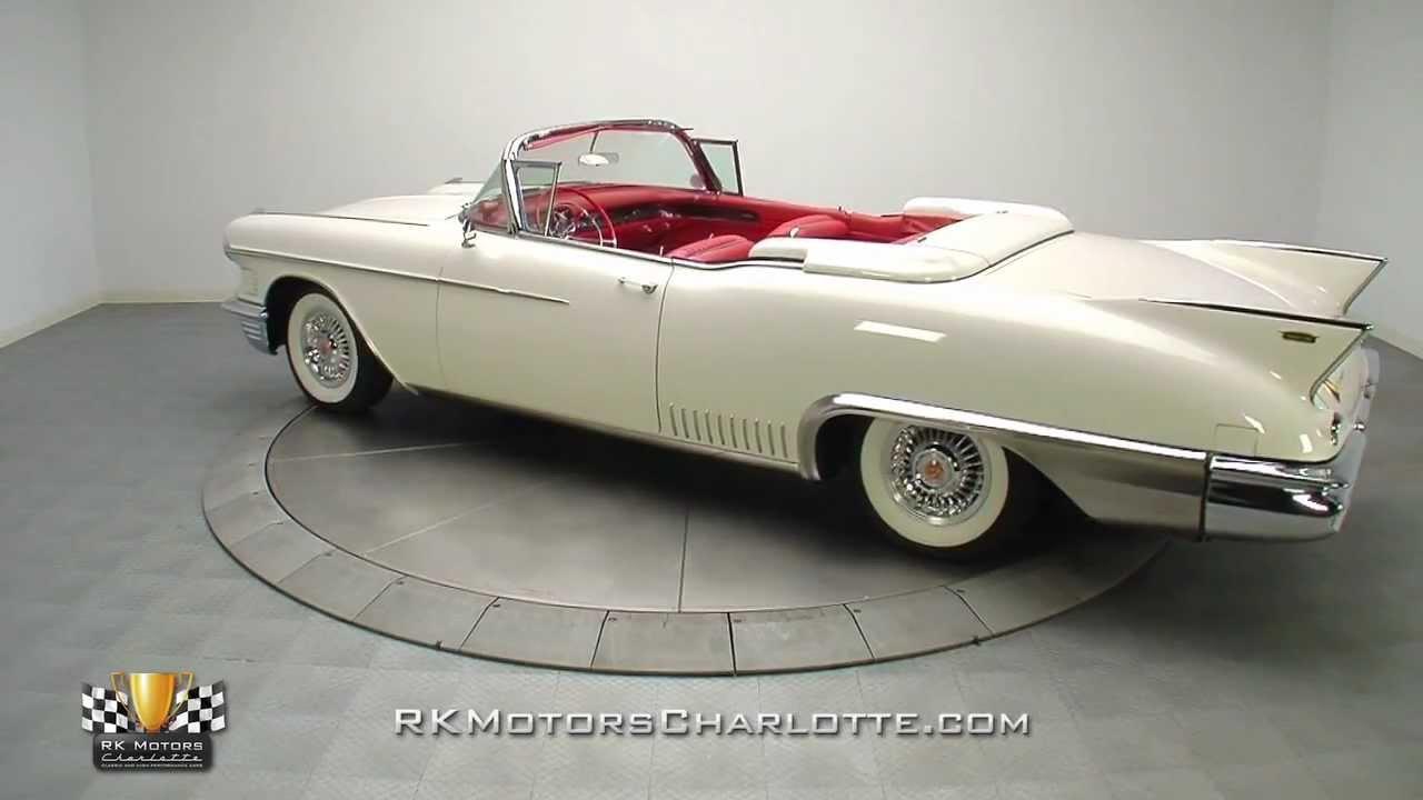 133055 1958 Cadillac Eldorado Biarritz Youtube