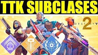 Destiny 2: SUBCLASES DE TTK? TERCERAS SUBCLASES!