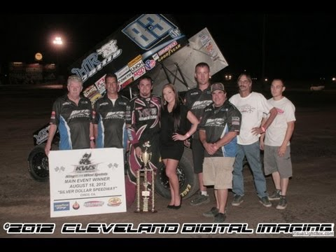 KWS 2012 Highlights Round 16 at Chico's Silver Dollar Speedway - August 18