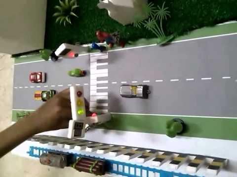 Simulasi Rancang Bangun Traffict Light Penyebrangan Jalan