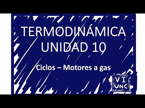 TERMODINAMICA - UNIDAD 10 - CICLOS DE MOTORES DE GAS (1/6)