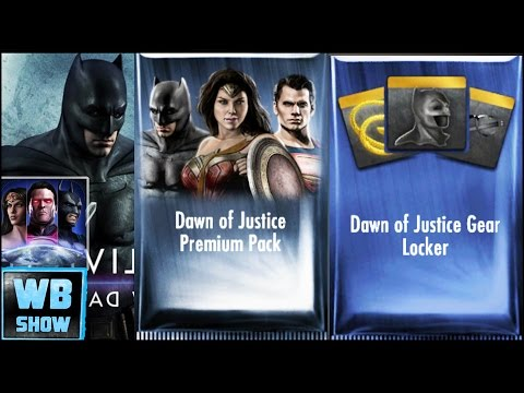 Ame-Comi Cat Woman! Dawn of Justice & Gear Packs Opening Gameplay Pt 3 | Injustice: Gods Among Us