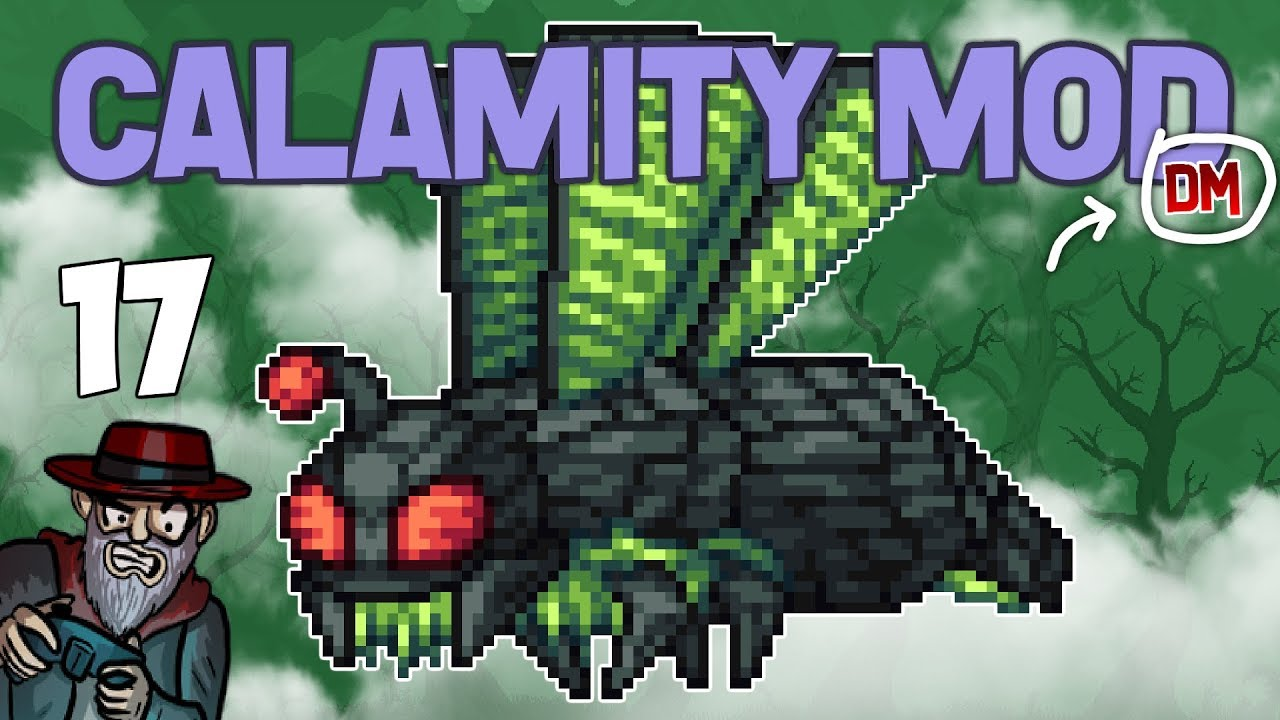 Terraria # 17 WE HAVE 1700 HEALTH!! Calamity Mod D-Mode Let's Play