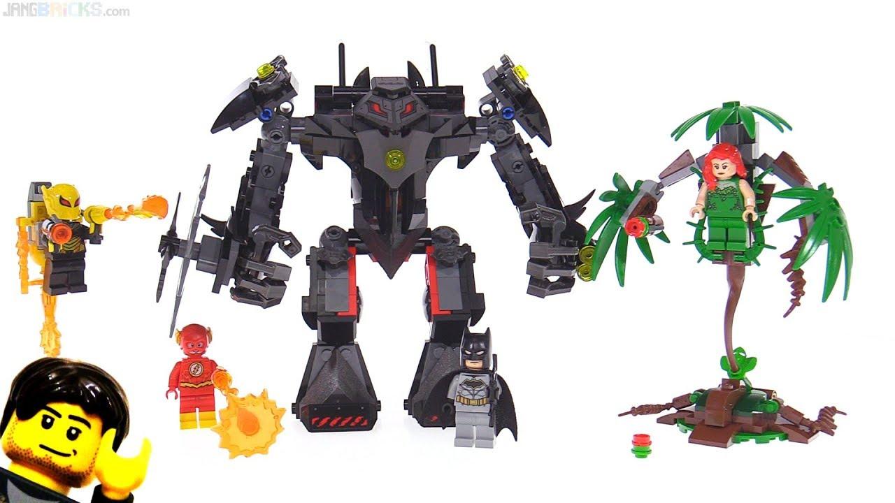 Super Heroes Lego De Vs Mech Ivy Batman 76117 Poison Jeux A5jRL34