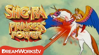 She-Ra Saves Swift Wind From Robots | SHE-RA: PRINCESS OF POWER
