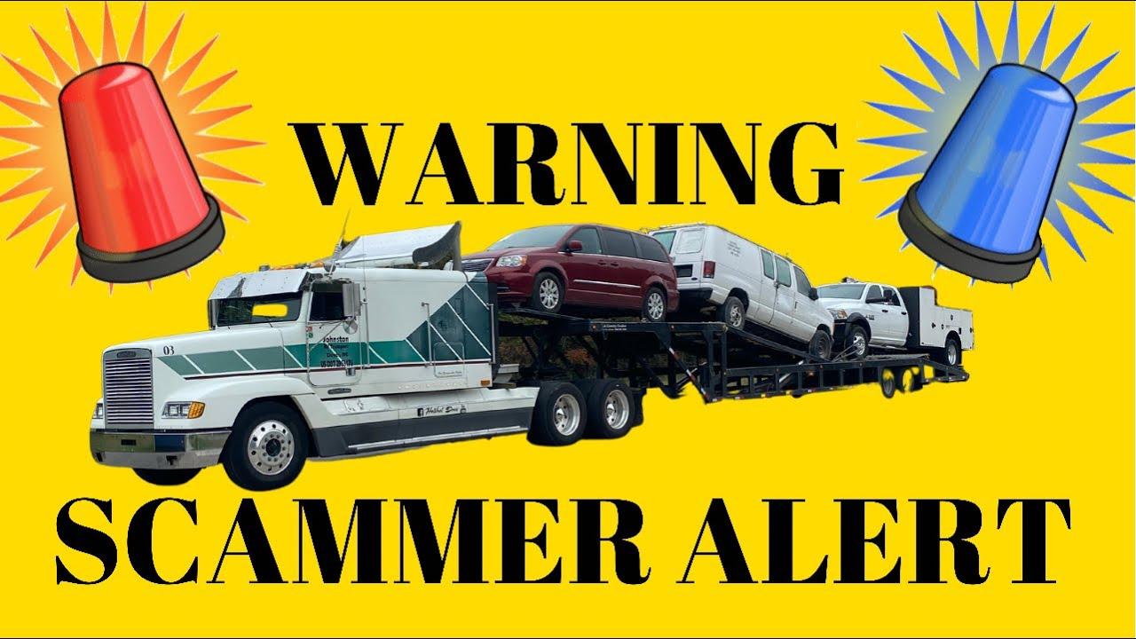 SCAMMER ALERT 🚨   DONT LET THEM GET YOU!!!! #carhauler #trucking #illegalbroker