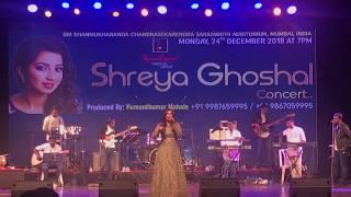 Shreya Ghoshal Singing Hasi & Tujh Mein Rab Dikhta Hai Live In Concert (Mumbai 2018)