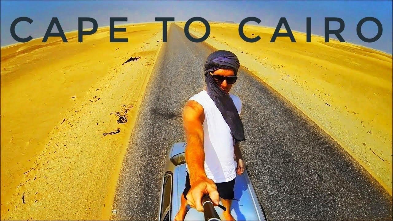 Africa Roadtrip - Cape to Cairo in a Corolla 1998 - 18,000km in 4 min
