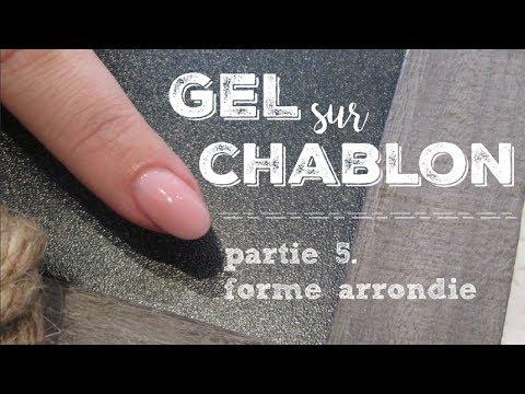 Gel sur Chablon Forme Arrondie| Melissa Easy Nails