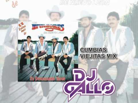 Invasores Cumbias Viejitas Mix por DJ Gallo Matehuala