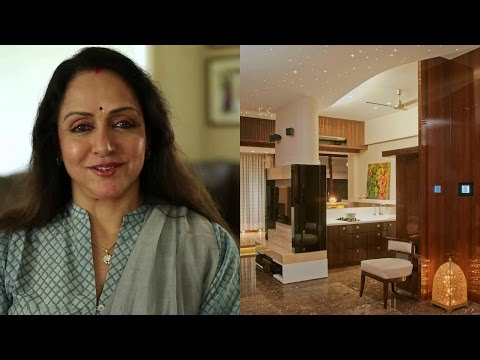 Celebrity Homes: Bollywood Actress Hema Malini Home