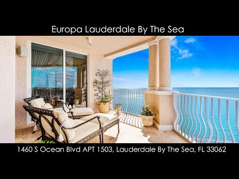 Europa Lauderdale By The Sea | 1460 S Ocean Blvd APT 1503, Lauderdale By The Sea, FL 33062