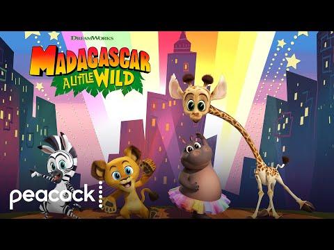 DreamWorks Madagascar: A Little Wild   Official Trailer   Peacock