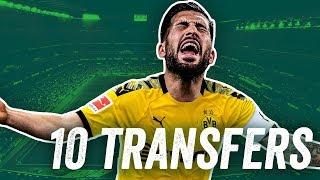 BVB, SGE, FCB, Werder und Schalke! 10 Transfers die im Winter passieren müssen!