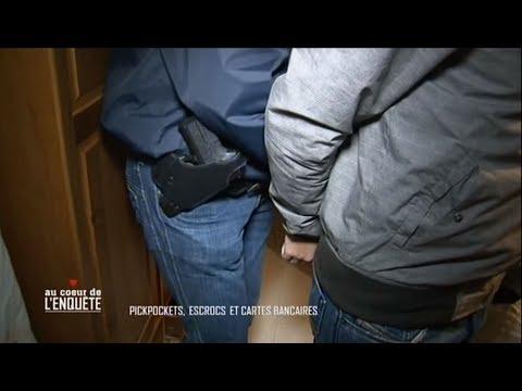 Au coeur de l'enquête : Pickpockets, escrocs et cartes bancaires