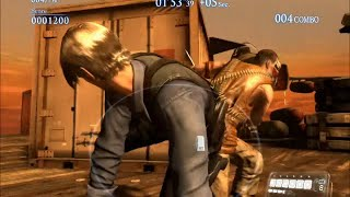 Resident Evil 6 Melee Attacks, Counter Attacks, Special Moves & Stunts