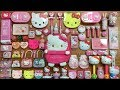 Special Series Pink Hello Kitty Slime | Mixing Too Many Things into Slime | Satisfying Slime