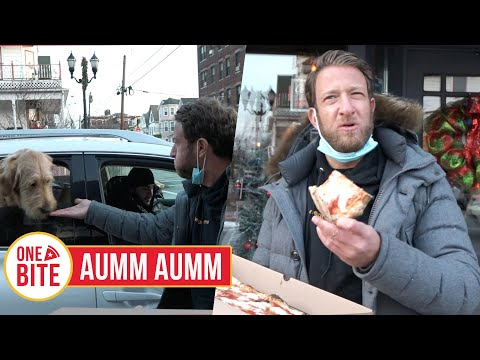 Barstool Pizza Review - Aumm Aumm (North Bergen, NJ) presented by Mugsy Jeans