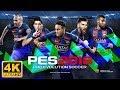 PES 18 Gameplay 4k - PS4 Pro - Tv Lg 4k + HDR UH7650