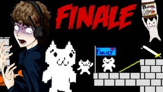 UN FINALE DA INCAZZARSI VERAMENTE!! - Cat Mario FINALE [in Webcam LIVE] - #4