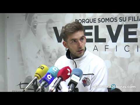 Rueda de prensa tras el Salmantino - Astorga