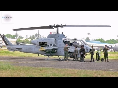 Philippine and U.S. AH-1W Cobra Familiarization Flights