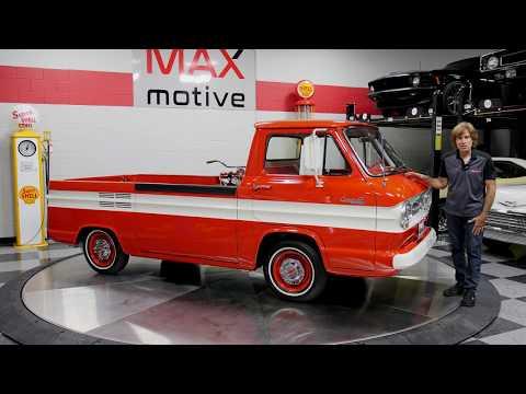 1963 Chevrolet Corvair Rampside Pickup For Sale At MAXmotive - V0546