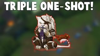 WHEN RENGAR TRIPLE ONE-SHOTS...| Funny LoL Series #63